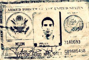 USNA Midshipman Officer Victor-Hugo Vaca Jr.