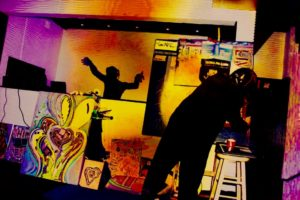 MAVERICK ARTIST VICTOR HUGO VACA JR RON D 8 LIM WINTER MUSIC CONFERENCE MODERN ART MUSIC MOVEMENT MIAMI MUSIC WEEK MIAMI BEACH FLORIDA