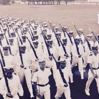 Midshipman Officer Victor Hugo Vaca Jr Platoon 26 Front and Center