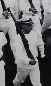 United States Naval Academy Midshipman Officer Victor-Hugo Vaca II