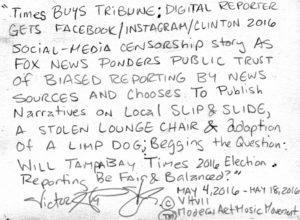 Tampa Bay Times Biased Reporting