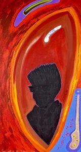 Artist Contemplates Life