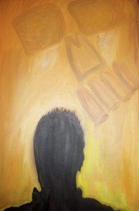 Artist Contemplates Death