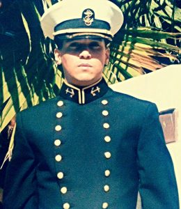 UNITED STATES NAVAL ACADEMY MIDSHIPMAN OFFICER VICTOR HUGO VACA II