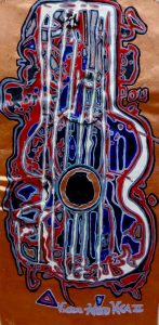 Modern Art Music Movement Prince Guitar