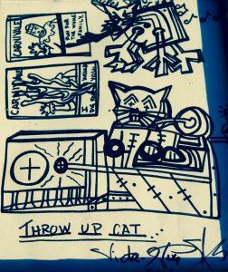 Throw Up Cat