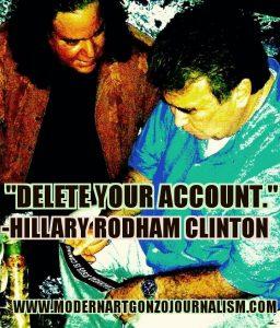 Clinton Machine Censors Art