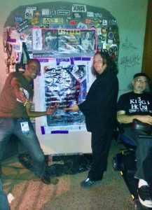 World Famous House Dj Ron D8 Lim POwer of Love With Maverick Artist Victor Hugo In front of TPP in its infancy.