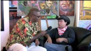 Maverick Artist Victor-Hugo With AL McGhee