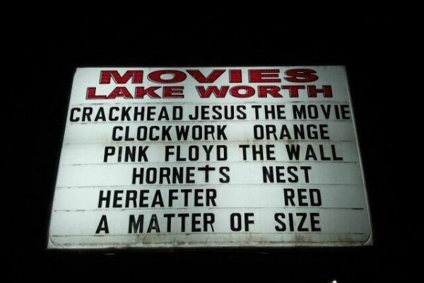 Coolest Movie Marquee Ever