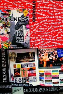 The Sticker Book: Stickers- From Punk Rock To Contemporary Art Featuring The Sociopolitical Artwork Of Maverick Artist Victor-Hugo Vaca II