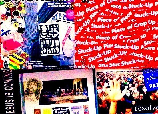 STICKER BOOK VICTOR HUGO VACA JR CRACKHEAD JESUS IS COMING STICKER
