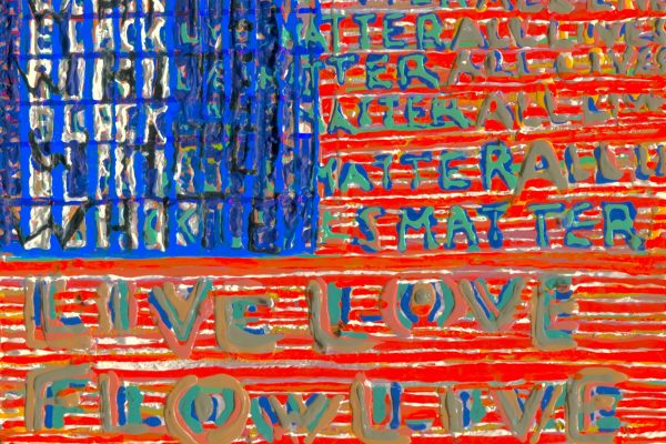 AMERICAN FLAG VICTOR HUGO VACA JR