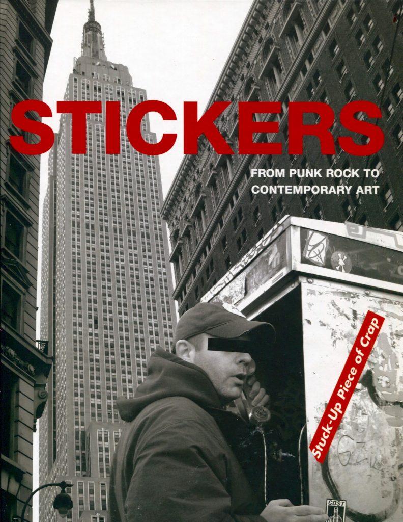STICKER BOOK DB BURKEMAN MAVERICK ARTIST VICTOR HUGO VACA JR