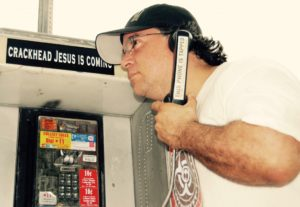 THIS PHONE IS TAPPED CRACKHEAD JESUS IS COMING VICTOR HUGO VACA II
