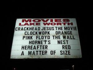 CRACKHEAD JESUS: THE MOVIE MARQUEE