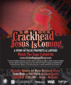CRACKHEAD JESUS DONALD TRUMP HILLARY CLINTON