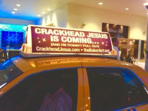 CRACKHEAD JESUS CAB HILTON HOTEL SOUTH BEACH MIAMI FLORIDA