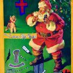 Victor Hugo Art Happy Easter Merry Christmas Santa Clause