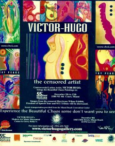 Victor Hugo Censored Artist Art Basel