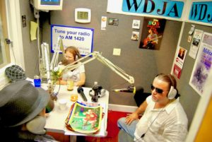 "Victor-Hugo Vaca II on WDJA FOX radio and internet broadcast of ""The Byron Eggers Show"" with H-Love and Billy HItz."