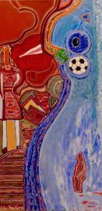 World Cup Copa Mundial Victor Hugo Art