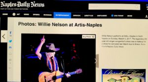 Willie Nelson Artist Victor Hugo Vaca Jr USA Today Network