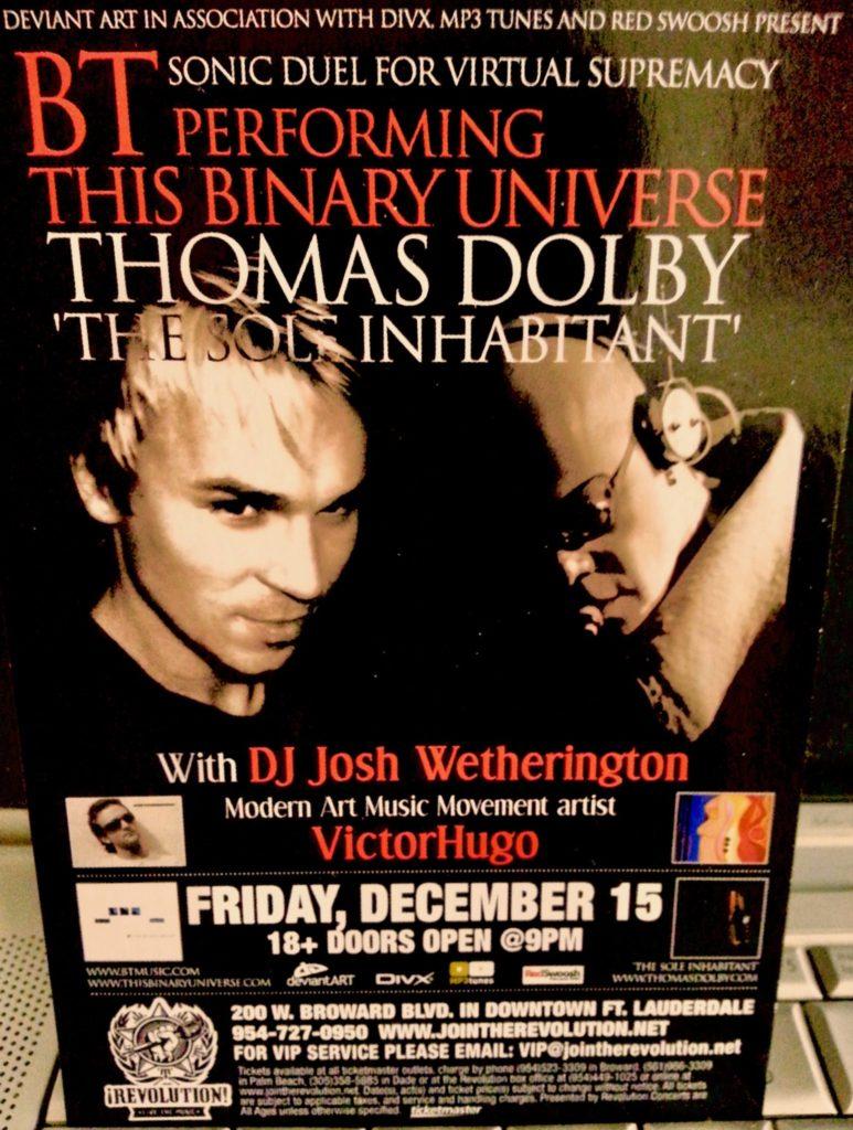 BT Thomas Dolby Victor Hugo Vaca Jr Josh Wetherington