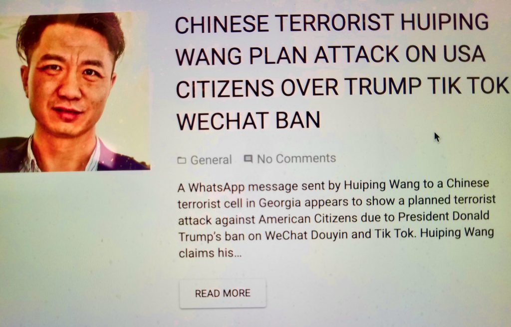 tik tok ban wechat knight wilde huiping wang